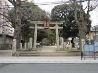 駒込富士神社②「一富士、二鷹、三茄子」(新江戸百景めぐり60-2) - 気ままに江戸♪  散歩・味・読書の記録