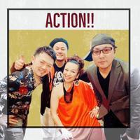 八幡市にてAction!!しました😊 - singer KOZ ポツリ唄う・・・