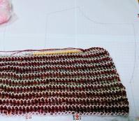 リバーシブルアフガン編みのジャケット - ルーマニアン・マクラメに魅せられて