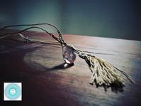 WEB SHOPにシルク(絹糸)マクラメ編み作品、初登場です!! - Sola*Tsuchi  花とアクセサリー