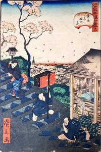 【江戸時代】相合傘の研究(というほどではなく今まで散発的にメモしたものをまとめました)【番傘か蝙蝠か】 - 揺りかごから酒場まで☆少額微動隊
