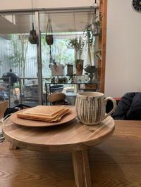 丸い木の台の正しい使いかた☆ヘアケア商品 - ケセラセラ~家とGREEN。