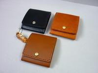Box型ミニ財布・・そなえの現金をいれる予備財布 - 革小物 paddy の作品