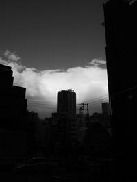 厚い雲 - 節操のない写真館