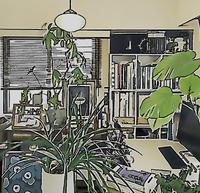 ワークスペースのコラージュ - atelier kukka architects