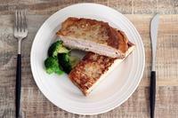 ハムとチーズのモンティクリスト - Takacoco Kitchen