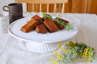 ほうじ茶のフィナンシェ - Chamomile 季節のおやつと日々のこと