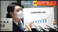 北海道は感染対策が後手後手になり、緊急事態宣言 - 満たされぬ思い、日々の出来事