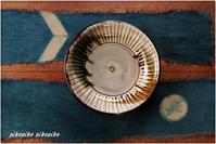 藍染麻のテーブルランナー - 今が一番