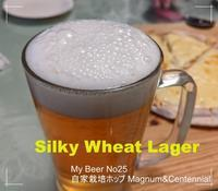 自ビール25回目Silky Wheat Lager 開栓 - ■■ Ainame60 たまたま日記 ■■