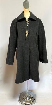 アンゴラウールのコート - 私のドレスメイキング