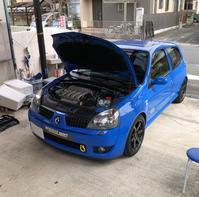 クリオ2/ph3/RS182(並行車・日本名ルーテシア)アーシング施工 - 「ワッキーの自動車実験教室」 ワッキー@日記でごじゃる