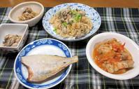 牡蠣の炊き込みご飯 - 楽しい わたしの食卓
