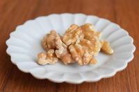 手作り調味料*くるみ味噌 - 小皿ひとさら