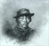 《【アーカイブス62】『ヤマセミの渓から――― ある谷の記憶と追想》 - 画室『游』 croquis・drawing・dessin・sketch