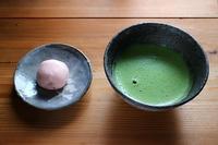 今日の一服桜のお菓子 - 満足満腹 お茶とごはん2
