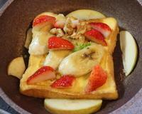 焼きバナナフレンチトースト - 二つの台所