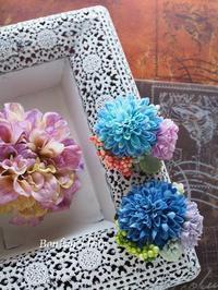 セミオーダーコサージュ入学式 - Bonbon Fleur ~ Jours heureux  コサージュ&和装髪飾りボンボン・フルール