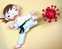 コロナウィルスをやっつけろー - 図工舎 zukosya blog