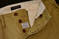 *A VONTADE::Type45 Wide Fit Chino Trousers - JUILLET