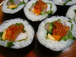 お雛様のお寿司 -