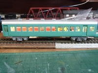 カツミ16番中型客車の電飾 量産化工事 4輌目 「特別車輌」その2 - 新湘南電鐵 横濱工廠3