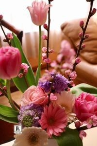 そして今日は桃のお花 - Bouquets_ryoko