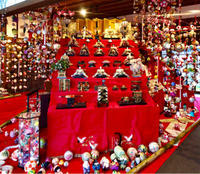 柳川、御花のお雛様とさげもん飾り - ゆるゆると・・・