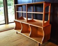 山桜の飾り棚 - woodworks 季の木  日々を愉しむ無垢の家具と小物