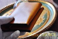 イタリアンヴィンテージバケッタ・コンパクト2つ折り財布と1ヶ月の経年変化 - 時を刻む革小物 Many CHOICE~ 使い手と共に生きるタンニン鞣しの革