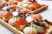 ひな祭りの「手まりずし」 - 登志子のキッチン