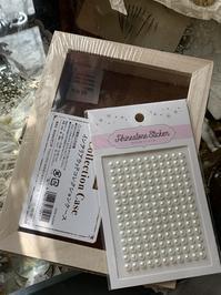 100均の箱をシャビーなコレクションBOXに♪再びw「石膏風」 - フレンチシックな家作り。Le petit chateau