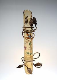 LEGRAS Japonesque Enamel Vase - GALLERY GRACE ギャラリーグレース BLOG