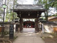 赤坂氷川神社①(新江戸百景めぐり62-1) - 気ままに江戸♪  散歩・味・読書の記録
