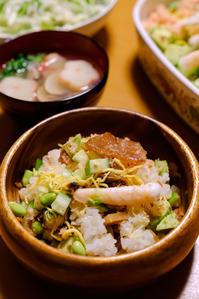 ひな祭りちらし寿司と蛤のお吸い物 - X-T1やあれこれ