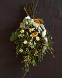 NHKカルチャー町田教室『春色のスワッグ作り』休講のお知らせ - driedflower arrangement ✦︎ botanical accessory ✦︎ yukonanai ✦︎