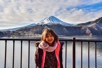 孫と富士山 - 風とこだま
