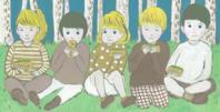 小中高一斉休校 - たなかきょおこ-旅する絵描きの絵日記/Kyoko Tanaka Illustrated Diary