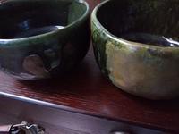 ■抹茶茶碗とおちょこ■ - ちょこっと陶芸