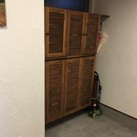  自宅収納実例 子供と一緒に玄関整理。 - 岐阜・整理収納アドバイザーのブログ・おちつくおうち