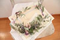 NHKカルチャーさいたまアリーナ教室『季節のドライフラワーレッスン』3/11休講のお知らせ - driedflower arrangement ✦︎ botanical accessory ✦︎ yukonanai ✦︎
