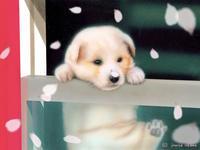 【萌獣】子猫と子犬のリアルかわいい動物イラスト紹介 - junya.blog(猫×犬)リアリズム絵画
