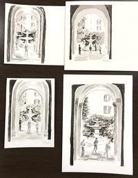 モノクロの楽しさ - リンデンの木陰で。楽しむアート通信