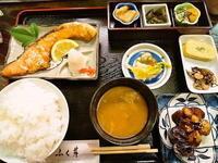 京都市 焼鮭定食♪ 漬物割烹 ふく井 - 転勤日記