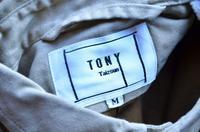 TONY別注企画第四弾!!!!! - DAKOTAのオーナー日記「ノリログ」