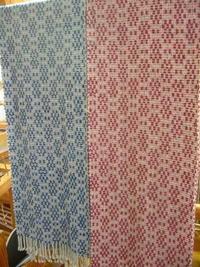 rose point patternと千鳥 - テキスタイルスタジオ淑blog