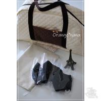 ちょっと大きなバッグを作りました - Orange*nana:はりねずみが今日も作っちゃうよぉ!
