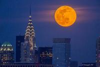 First Super Moon in March 9 2020   -Super Worm Moon- - Triangle NY
