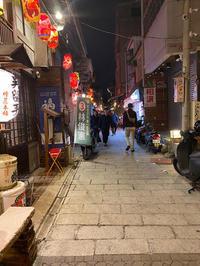 台湾(台南):太古TAIKOO(カフェ/バー)夜の神農街(シェンノンチエ) - ふりむけばスカタン