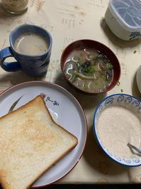 私の朝食は・・・ - 今日のごはん